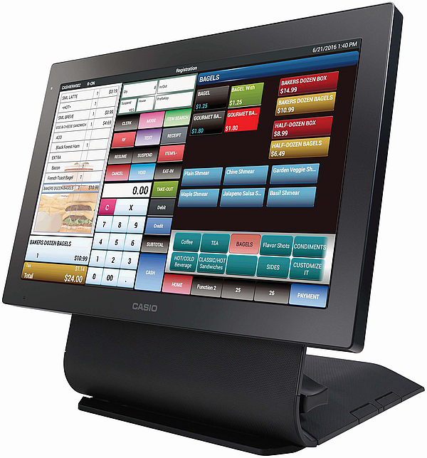 Casio V-R7000 Touch Screen POS Terminal