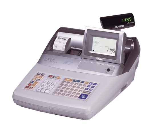 Casio TE-3000 Retail Cash Register