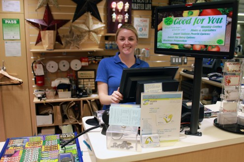 """Catapult POS system at the """"Give Shop"""" store at McMaster Hospital."""