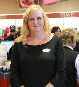 Bonnie Gates, Marketing Manager at the Peace Bridge Duty Free, says the Catapult system has dramatically increased its ability to handle peak traffic periods.