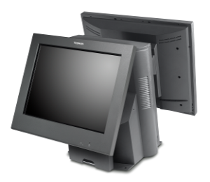 Toshiba SurePOS 580 with rear mounted LCD customer display.