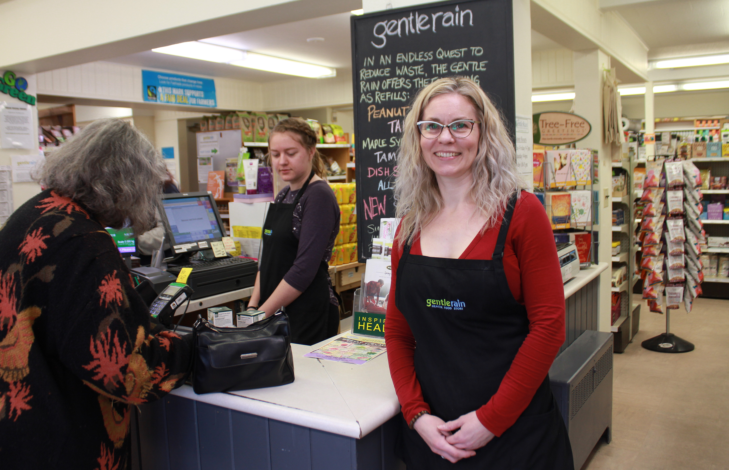 Catapult POS Success Story - Gentle Rain Health Foods Store Manager