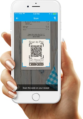 Global Restaurant POS Scan To Pay